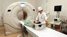 Máy  CT  320 lát cắt