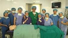 Ca phẫu thuật cấy ốc tai điện tử đầu tiên của Bệnh viện