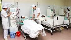 Ứng dụng máy BCM (body composition monitor) đo lượng nước trong cơ thể bệnh nhân suy thận mạn lọc máu chu kỳ