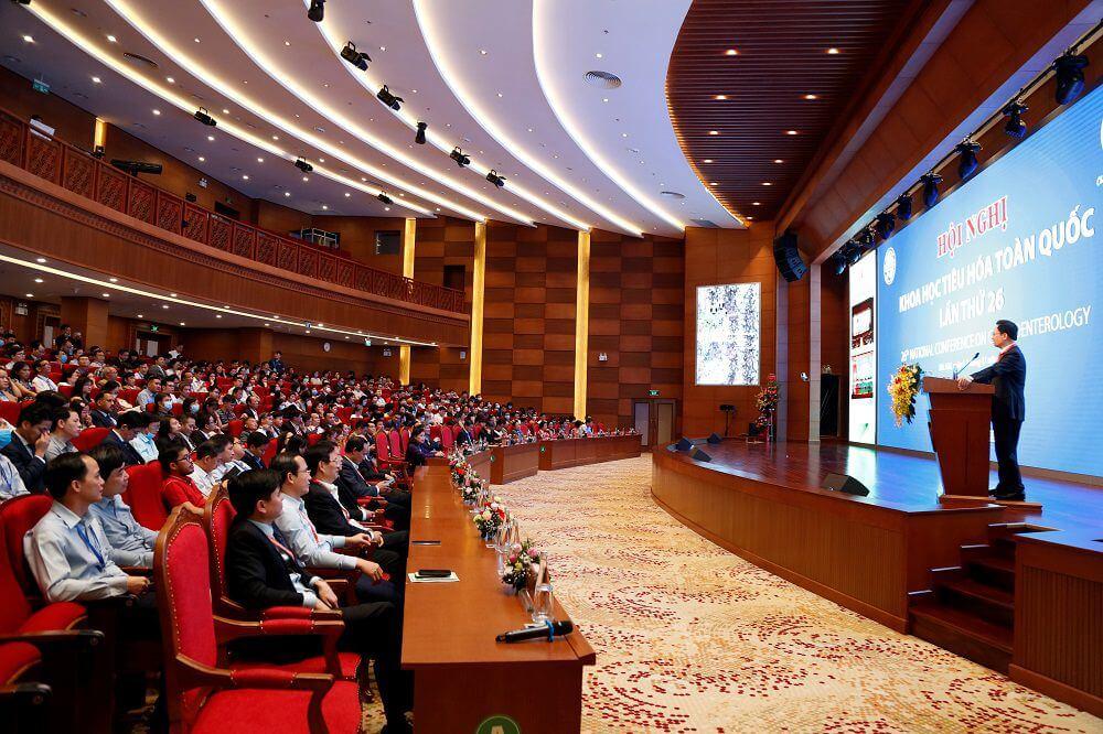 Bệnh viện TWQĐ 108 và Hội Khoa học Tiêu hóa Việt Nam phối hợp tổ chức Hội nghị Khoa học Tiêu hóa toàn quốc lần thứ 26
